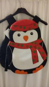 Penguin Tabard Costume Fancy Dress 5-6yrs