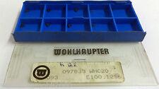 9 Wendeplatten inserts 097833 WHC20 E100.1256 von Wohlhaupter Neu H7130