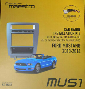 iDatalink Maestro Dash KIT-MUS1 for Ford Mustang Radio Install 2010 to 2014 NEW