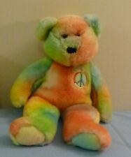 "TY VINTAGE BEANIE BUDDIES COLLECTION ""PEACE""  TOY BEAR - 1999"