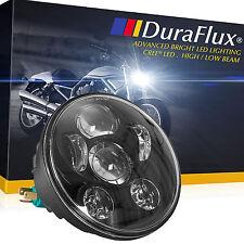DuraFlux 5.75 5-3/4 CREE Projector LED Headlight Hi/Low Beam 6000K Xenon White
