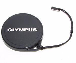 Used Olympus 40mm ID Lens Cap Front Slip on type Plastic B00551