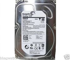 "Seagate 4TB Desktop Internal Sata 6Gb/s Hard Disk Drive 3.5"" 64 ST4000DM000 4 TB"