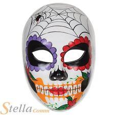 Día de los muertos Cara Máscara Halloween Zombie Fancy Dress Azúcar Calavera Accesorio