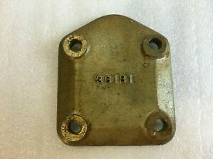 Continental Engine Cover Plate Prop Gov  P/N 36181 New Surplus Beech Cessna