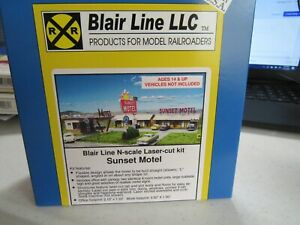 Blair Line N Scale Sunset Motel  Kit  #1001  Bob The Train Guy