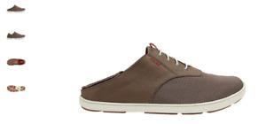 Olukai Nohea Moku Rock/Mustang Sneaker Loafer Men's US sizes 7-14 NEW!!!