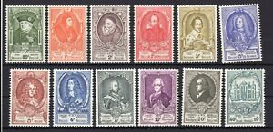 BELGIUM , 1952 , UPU congress , THURN and TAXIS , full scare set , MNH !