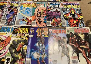 Lot of Marvel Iron Man Comics