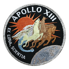 Official NASA Apollo 13 Mission Patch, Lovell,  Haise and Swigert