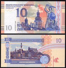 10 Zlotych Zloty 2017 Poland Polen Warszawa Warsaw Warsau Matej Gabris Banknote