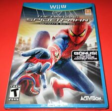 The Amazing Spider-Man - Ultimate Edition Nintendo Wii U *Factory Sealed!