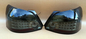Toyota Yaris Sedan Belta 2007-2012 Somke color LED Tail lights pair oem jdm used