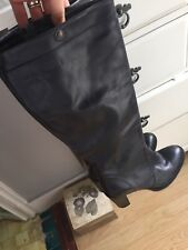 G Star Boots Cos Black Leather 8 41 block Bromley Rrp £220