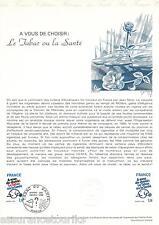 DOCUMENT PHILATÉLIQUE - YT 2080 - 1er JOUR 1980