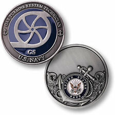 U.S. Navy / Gas Turbine System Technician - USN Challenge Coin