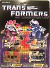 Transformers G1 Decepticons Cassette Slugfest Overkill Reissue Brand New MISB For Sale