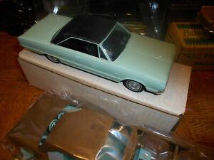 ORIGINAL VINTAGE MPC 1966 DODGE MONACO 2 DR. PROMO W/EXTRA DONOR CAR !!!!!!!!!