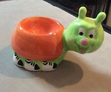 NEW BEETLE BUG EGG CUP - NOVELTY CHINA CERAMIC EGG CUP