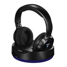 Thomson WHP6316BT Bluetooth Wireless Headphones With Charging Station - NEW