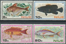 Niue 1973 Fish issue MNH set Scott# 156-159