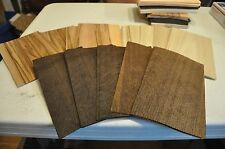 """3 different kind of 5""""x8"""" wood veneer sheets - 60 total, 20 sheets each Ic72"""