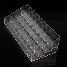 Clear Plastic 36 Lipstick Holder Display Stand Cosmetic Organizer Makeup Case