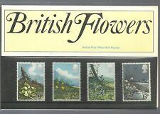 1979 British Flowers Presentation Pack 107 U.K.