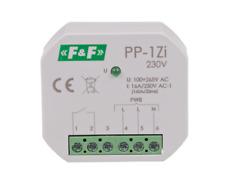 F&F PP-1Zi 230V Elektromagnetische Relais LED ESL Lampen Überwachung Schütze