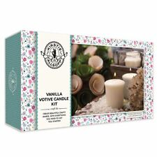 Kirstie Allsopp Vanilla Votive Candle Kit Moulds Stirrers and Beeswax Pellets