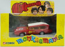 THE MONKEES : MONKEEMOBILE DIE CAST MODEL MADE BY CORGI - CC52405 (DRMP)