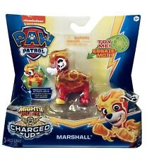 New! Nickelodeon Paw Patrol Mighty Pups Charged Up Marshall by Spin Master
