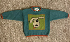 Boys Sweater Blue Dog Size 2T