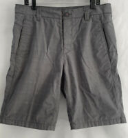The North Face Synkros Hayes Shorts MENS Size 36 Plaid Gray Rear Flip Pocket