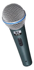 QFX Professional Dynamic Microphone W/ Carrying Case Cable And Stand Mount