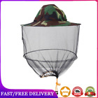 Camouflage Fishing Hat Bee Keeping Insects Mosquito Net Prevention Cap Mesh