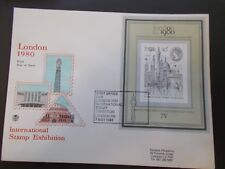 1980 The London 1980 Miniature Sheet on First Day Cover with SHS Cat £5