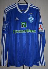 Dynamo Kiev Ukraine match un worn football shirt jersey Formotion #7 Shevchenko