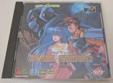 Death Bringer Mega Drive CD Japanese Import Japan Sega CD US Seller Excellent