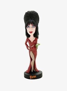 Royal Bobbles Elvira Mistress of the Dark Exclusive Red Dress Bobblehead