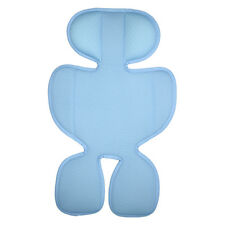 3D air mesh seat cushion pad liner for infant stroller and car seat -Blue