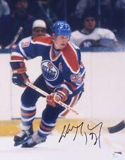Wayne Gretzky Signed Oilers 11x14 Photo (JSA COA)