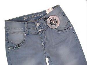 BLUE MONKEY  Jeans  CAYA 5166  hellblau used  Gr. W33 /L32 strech