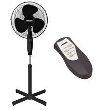 HELLER 40cm 3 Speed Timer+Remote Pedestal Fan+Tilt Oscillating Head HF40BRG-NEW