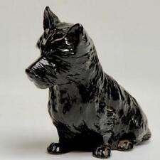 Vintage Cast Metal Scotty Dog Scottish Terrier Sculpture/Door Stop