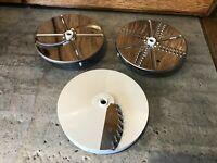 Vtg Oster Kitchen Center Regency Food Processor Chopper REPLACEMENT BLADES Discs
