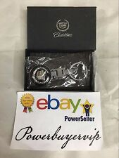 NEW Cadillac Keychain Metal Keyring, Key Chain, Keyfob, W/Gift Box 2 DAY GET