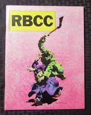 1976 Rocket's Blast ComiCollector RBCC #125 VF+ FANZINE Bernie Wrightson