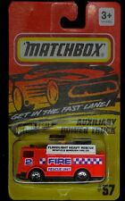 MATCHBOX AUX POWER TRUCK #57 NEWFIELD BOROUGH FIRE CO FLOODLIGHT HEAVY RESCUE 2