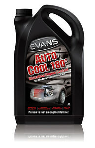 5 Litres Evans Waterless Engine Coolant Auto Cool 180°, LANDROVER TD5 DEFENDER